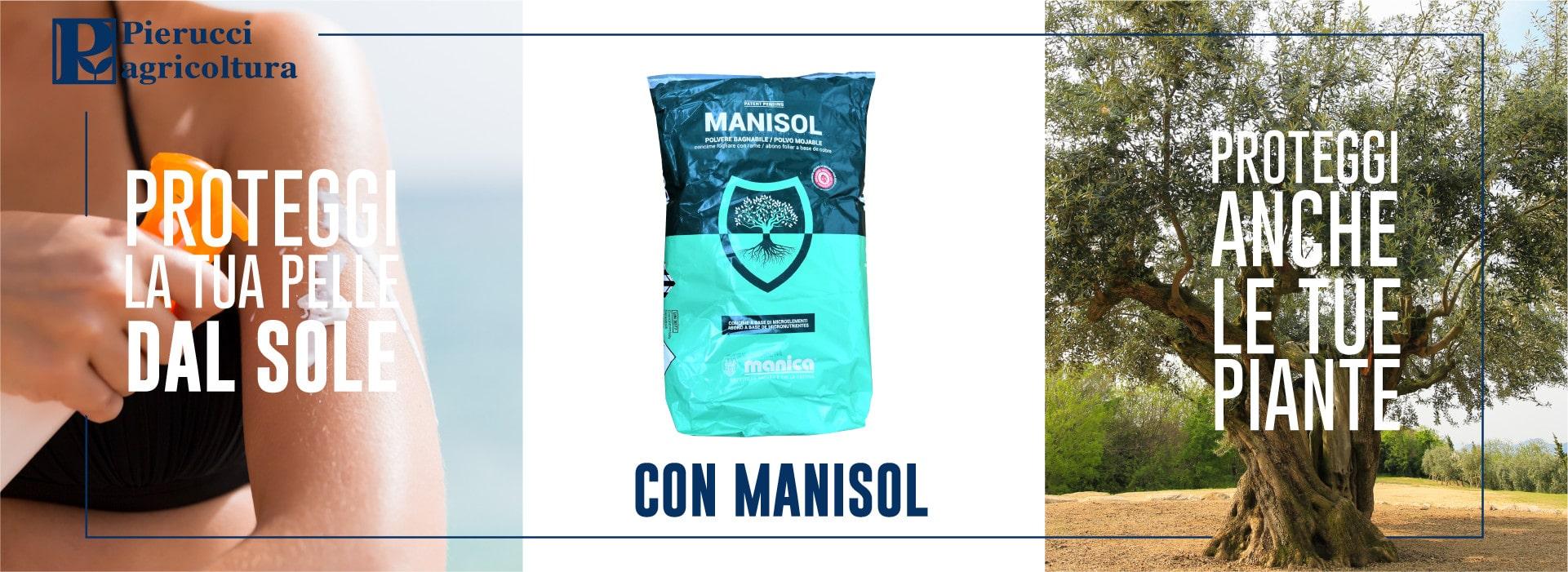 Concime fogliare con rame Manisol - Pierucci Agricoltura