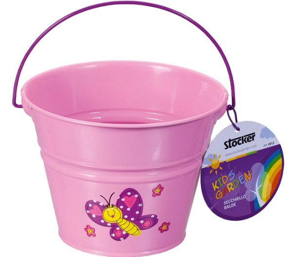secchiello per bambini rosa stocker Pierucci Agricoltura