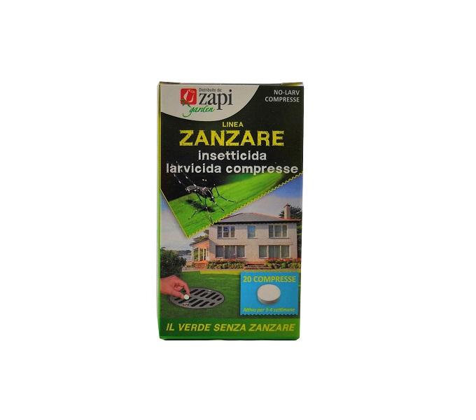 pastiglie antizanzare larvicida 20 compresse Zapi - Pierucci Agricoltura