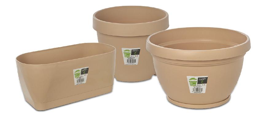 Arredare casa con i vasi in plastica biodegradabile Bio-ComPo(s)t - Pierucci Agricoltura