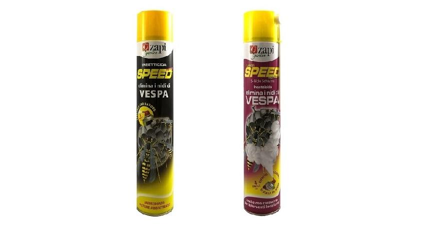 Spray e schiuma contro le vespe - Come allontanare le vespe da casa tua