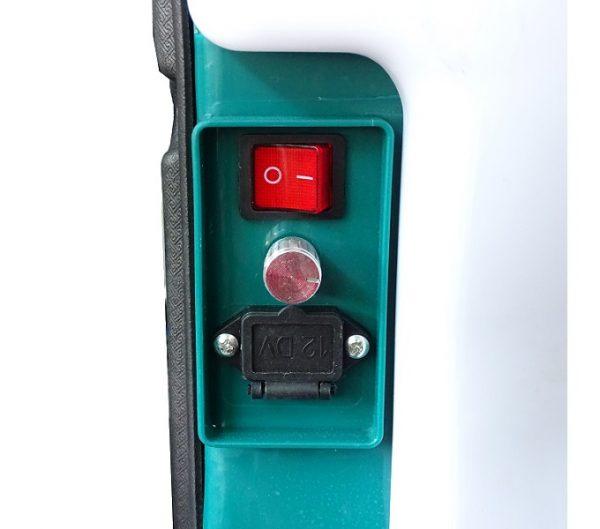 Dettaglio della pompa irroratrice elettrica da 16l Elettro-16 linea Pura Vida Carpi