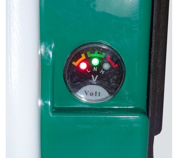 Dettaglio della pompa irroratrice elettrica da 16l Elettro-16 della linea Pura Vida Carpi